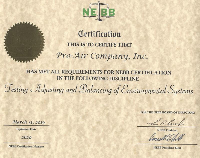 Pro Air Co About Us